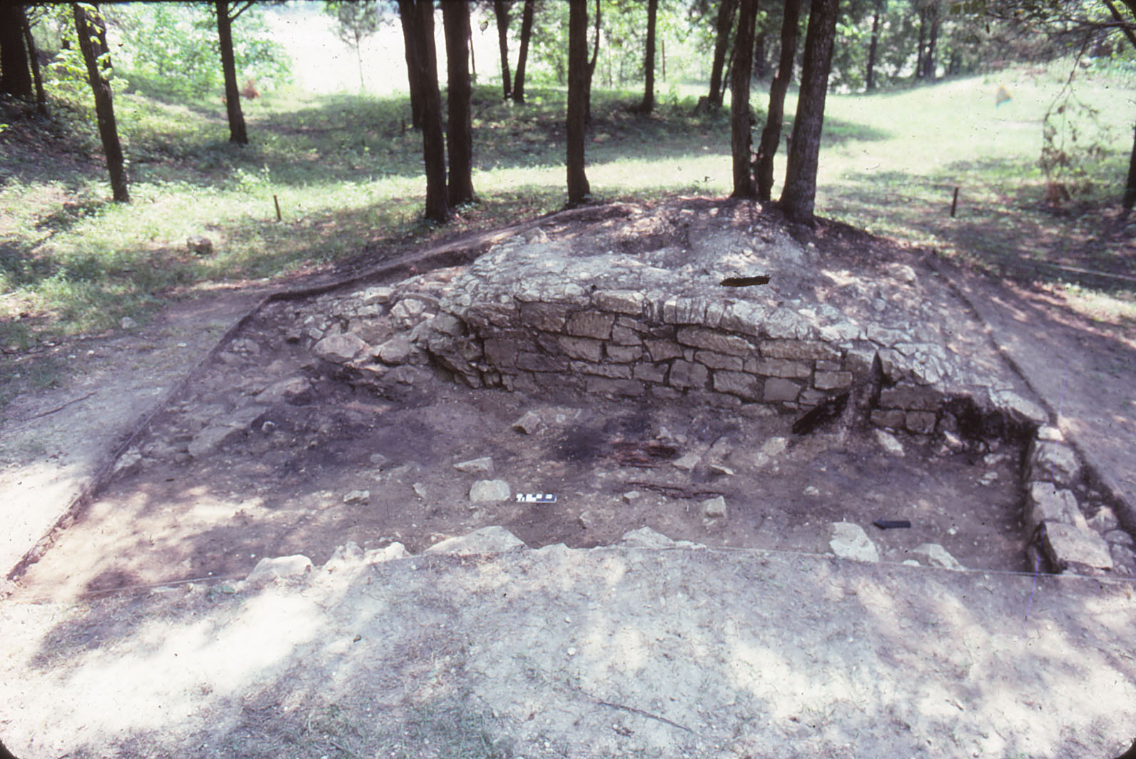 Remains of Spanish oven